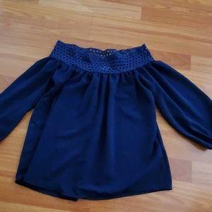 Papaya Tops - Ladies shoulder blouse